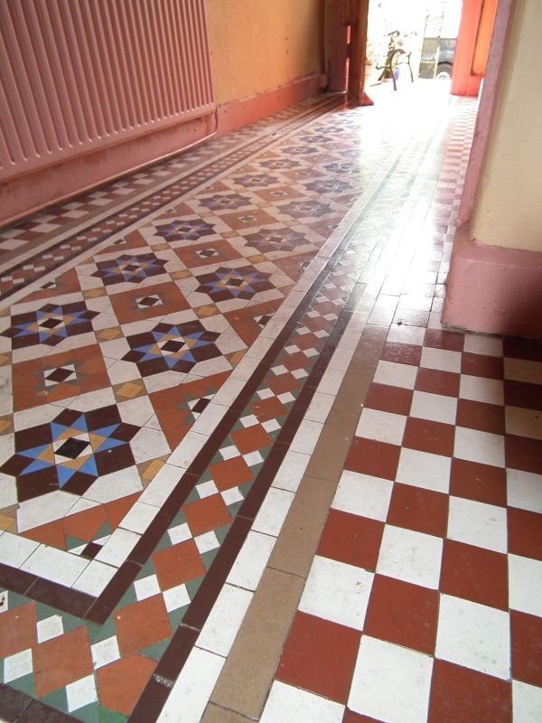 Victorian Floor Tiles Cleaning Restoration And Sealing In Cork