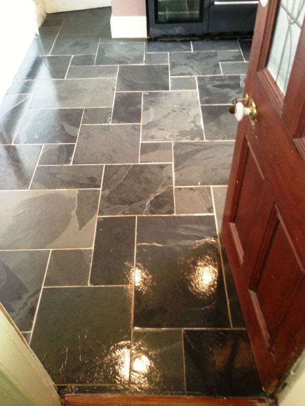 Slate Floor Tiles Cleaning Stripping And Sealing In Cork